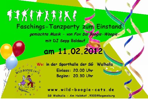 Faschings - Tanzparty