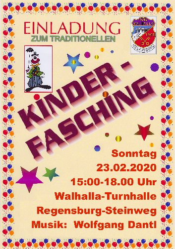 Kinderfasching 2015
